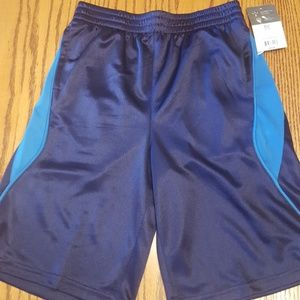 Russell boys athletic training shorts sz 10/12-New